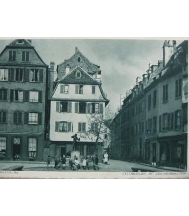 Carte postale. Anciennes villes allemandes